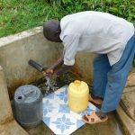 The Water Project: Eshiakhulo Community, Kweyu Spring -  Washing Hands At The Spring