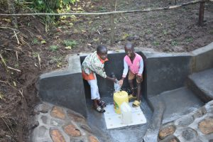 The Water Project:  Children Enjoying Water