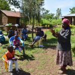 The Water Project: Musango Commnuity, Wabuti Spring -  Community Member Giving Vote Of Thanks At Training