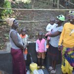 The Water Project: Musango Commnuity, Wabuti Spring -  People Posing At The Water Point