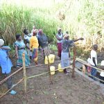 The Water Project: Musango Commnuity, Wabuti Spring -  Questions At The Spring Management Session
