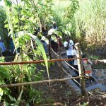The Water Project: Musango Commnuity, Wabuti Spring -  Trainer Elvine Teaches Spring Site Management