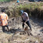 The Water Project: Machemo Community, Boaz Mukulo Spring -  Excavation