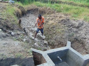The Water Project:  Clearing Ground For Backfilling