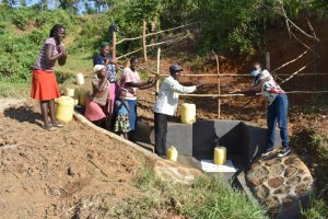 The Water Project:  Field Officer Adelaide Hands Over Shisia Spring