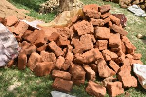 The Water Project:  Bricks Provided By The Community