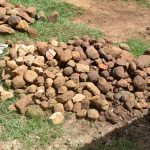The Water Project: Maraba Community, Shisia Spring -  Rocks Provided By The Community