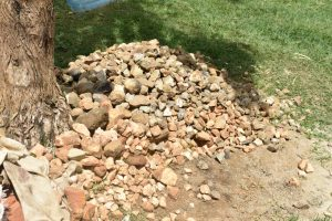 The Water Project:  Stones Provided By The Community