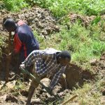 The Water Project: Maraba Community, Shisia Spring -  Excavation Begins