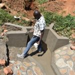 The Water Project: Maraba Community, Shisia Spring -  Plasterwork Ongoing