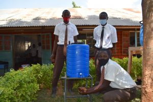 The Water Project:  Boys Handwashing At A New Station