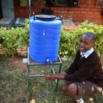 The Water Project: Kitagwa Secondary School -  Washing Hands At A New Station