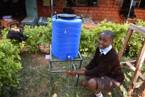 The Water Project:  Washing Hands At A New Station