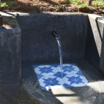 The Water Project: Mukhonje B Community, Peter Yakhama Spring -  Flowing Water