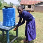 The Water Project: Mwikhupo Primary School -  Handwashing At A New Station
