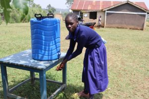 The Water Project:  Handwashing At A New Station