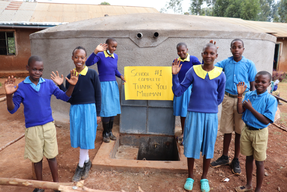 The Water Project : 5-kenya21229-students-say-thank-you