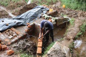 The Water Project:  Constructing Wing Walls
