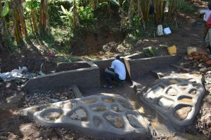 The Water Project:  Plastering The Outer Walls