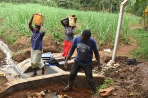 The Water Project:  Compressing Clay Soil