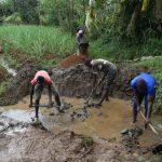 The Water Project: Mukhonje B Community, Peter Yakhama Spring -  Excavation