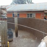 The Water Project: Kitagwa Secondary School -  Pillar Placement And Setting