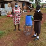 The Water Project: Kitagwa Secondary School -  Handwashing With Soap And Running Water