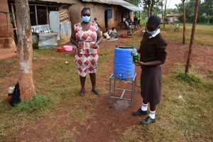 The Water Project:  Handwashing With Soap And Running Water