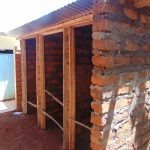 The Water Project: Kitagwa Secondary School -  Latrine Construction