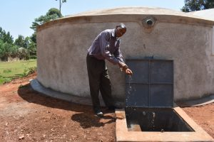 The Water Project:  Sanitation Teacher Celebrating Water On Campus