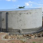 The Water Project: Kaketi Secondary School -  Completed Tank