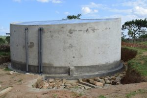 The Water Project:  Completed Tank