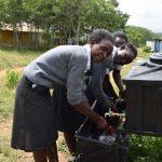 The Water Project: Kaketi Secondary School -  Handwashing