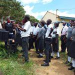 The Water Project: Kaketi Secondary School -  Handwashing Demonstration