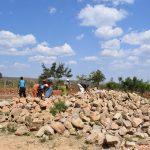 The Water Project: Kaketi Secondary School -  Rocks At Tank Site