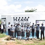 The Water Project: Kaketi Secondary School -  Students At The New Tank