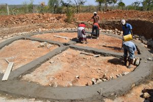 The Water Project:  Tank Foundation Work