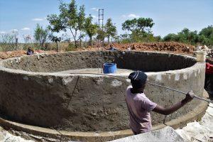 The Water Project:  Tank Wall Progress