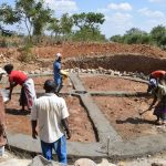 The Water Project: Kaketi Secondary School -  Working On The Foundation