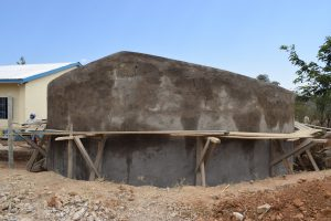 The Water Project:  Tank Walls Near Completion