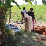 The Water Project: Kalenda A Community, Moro Spring -  Women Drop Off Lunch To The Work Team