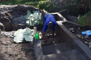 The Water Project:  Plastering The Stairs