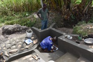 The Water Project:  Setting The Tiles In Place