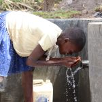 The Water Project: Kalenda A Community, Moro Spring -  Faith At The Water Point