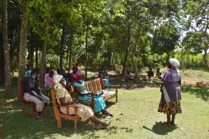 The Water Project:  Madam Rose Were Addressing The Group