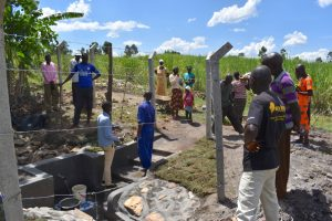 The Water Project:  Onsite Training With Field Officer Amos And The Artisan
