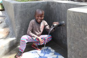 The Water Project:  Samwel At The Spring
