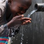 The Water Project: Kalenda A Community, Moro Spring -  Samwel Became The Star Of The Day