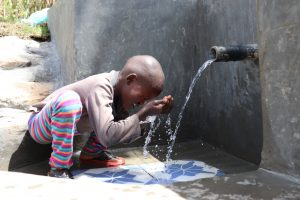 The Water Project:  Samwel Washes His Face