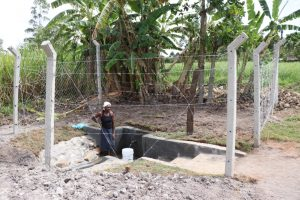 The Water Project:  Collecting Water At Moro Spring
